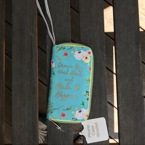 NWT Phone case wristlet